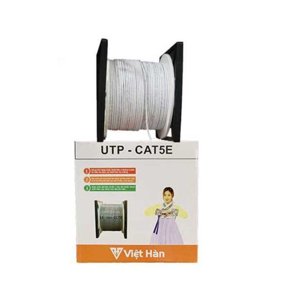 cáp mạng Việt Hàn UTP CAT5E kèm nguồn