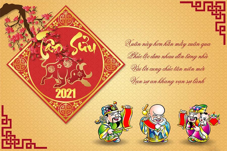 Vuhoangtelecom chúc mừng năm mới Xuân Tân Sửu 2021