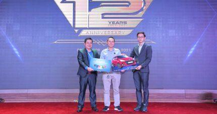 Vuhoangtelecom trao thưởng xe ô tô Hyundai Grand i10 cho đại lý