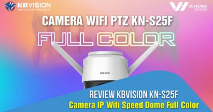 Review KBVISION KN-S25F - Camera Wifi Speed Dome Full Color giá rẻ