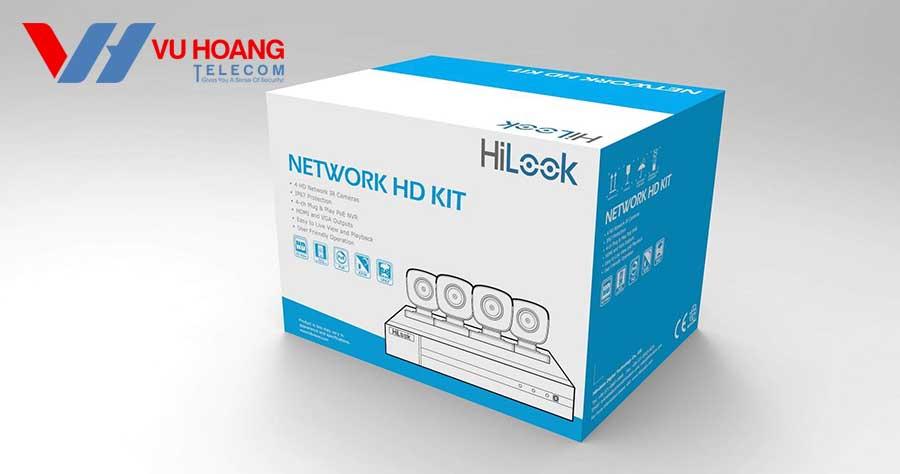Bán bộ kit 4 camera IP Hilook IK-4042BH-MH/P giá rẻ