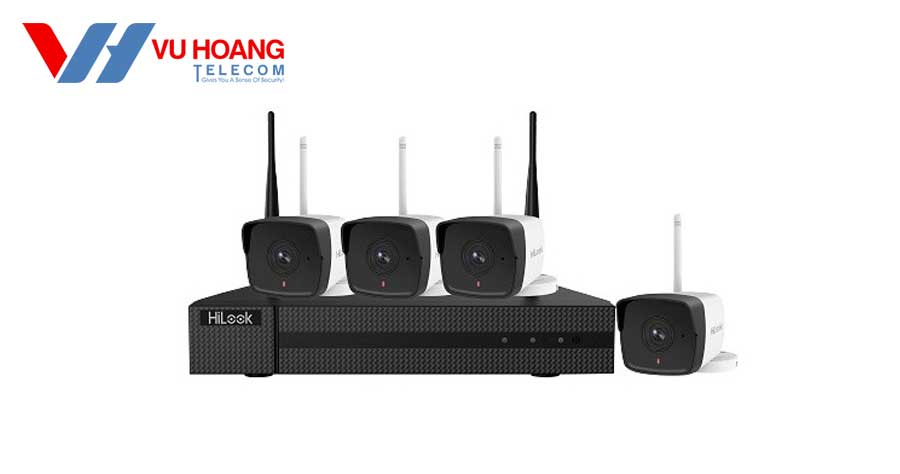Bán bộ kit 4 camera Wifi Hilook IK-4042BH-MH/W(B) giá rẻ