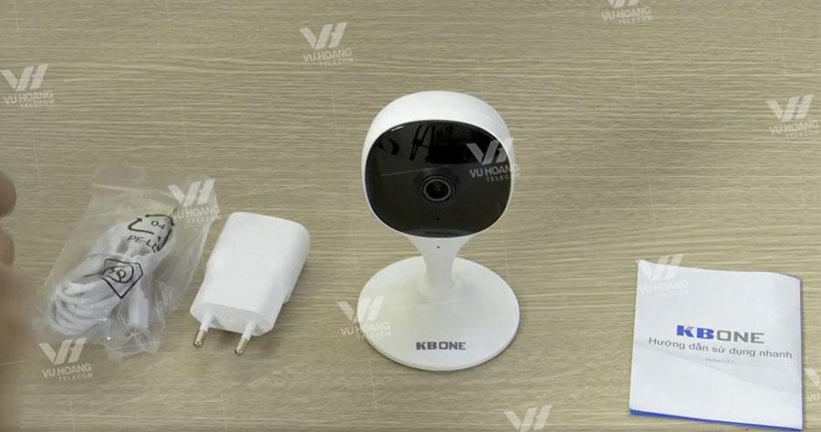 Bán wifi cố định 2MP KBONE KN-C20 giá rẻ, lưu trữ trên thẻ nhớ