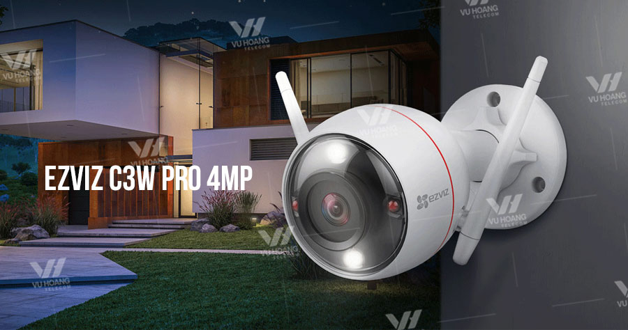 Camera Wifi cố định EZVIZ C3W Pro 4MP