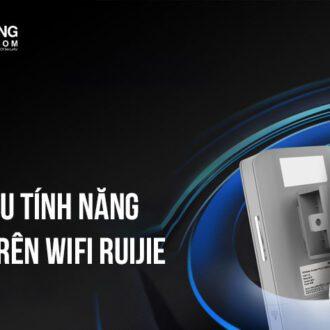 Giới thiệu tính năng Roaming trên Wifi Ruijie | Vuhoangtelecom