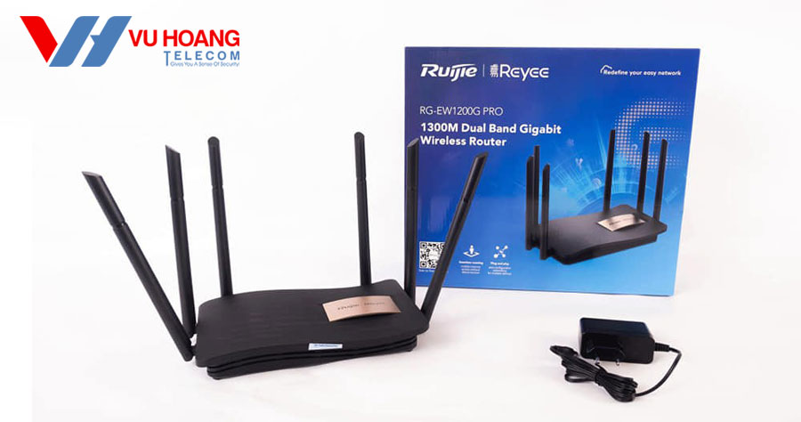 Bán Router Wifi cho gia đình RUIJIE RG-EW1200G Pro giá rẻ