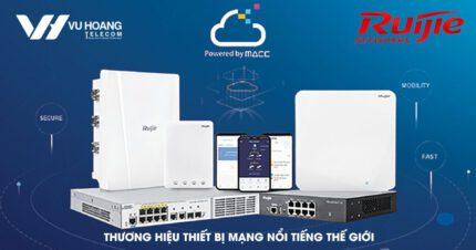 Thương hiệu thiết bị mạng Ruijie nổi tiếng thế giới