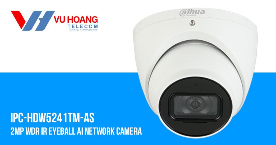 Camera IP Pro-Ai 2.0MP DAHUA DH-IPC-HDW5241TMP-AS