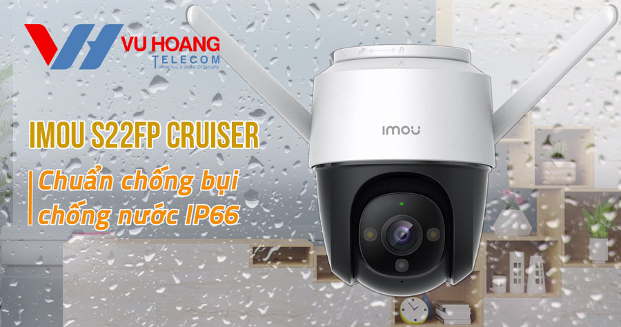 Bán camera IP Wifi PTZ 2MP Cruiser S22FP-IMOU giá rẻ năm 2021