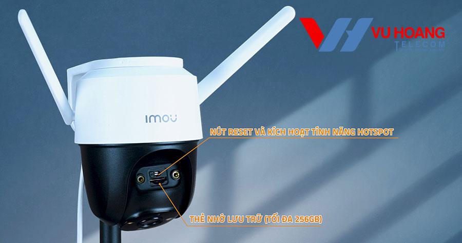 Camera Cruiser tích hợp nút reset và kích hoạt tính năng hotspot