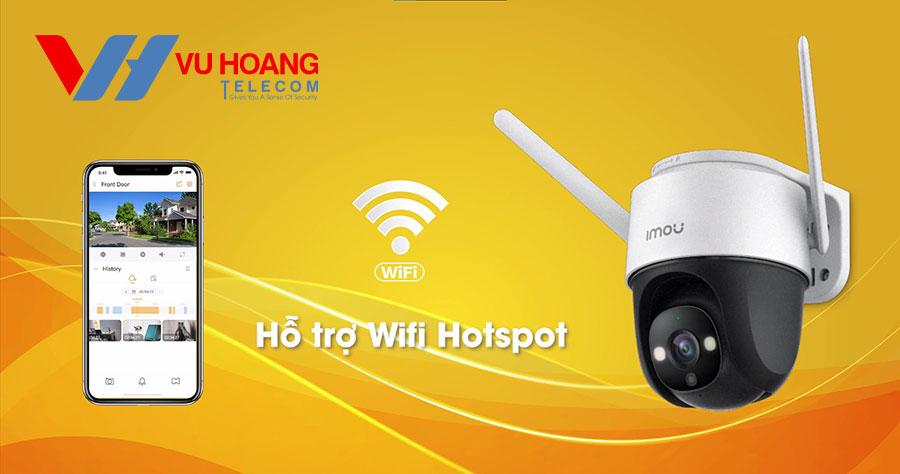 Tích hợp Wi-Fi Hotspot
