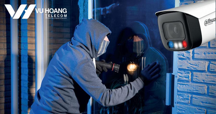 Camera Dahua TiOC giám sát màu 24/7, ngăn chặn chủ động và trí tuệ nhân tạo