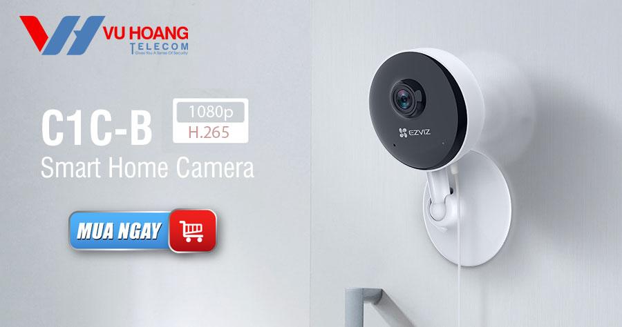 Bán camera Wifi EZVIZ C1C-B 1080P trong nhà thông minh giá rẻ