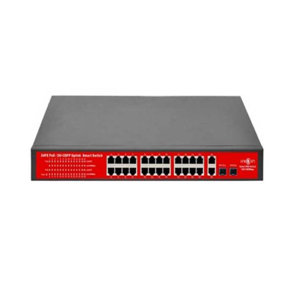 Switch PoE 24 cổng ONECAM SW-26-24P-2FP-A