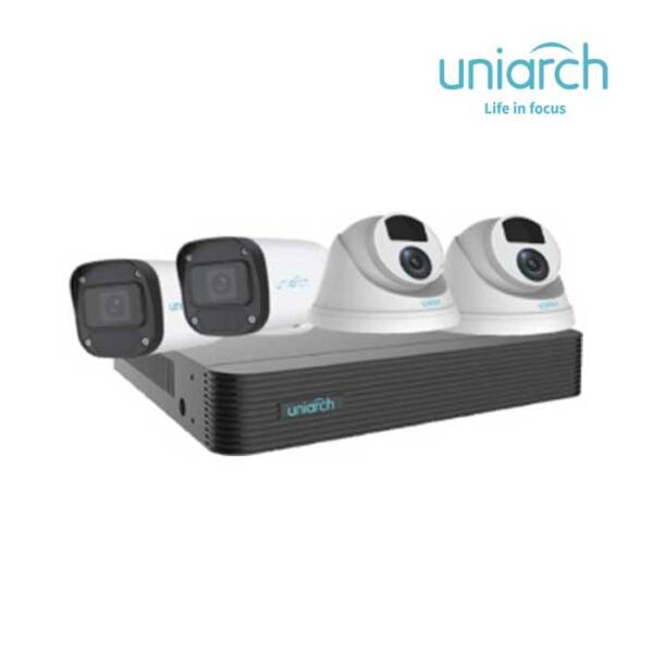 Bộ Kit 4 Camera IP 2MP UNIARCH COMBO X42P1