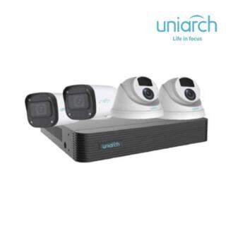 Bộ Kit 4 Camera IP 4MP UNIARCH COMBO X44P1