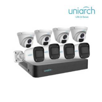 Bộ Kit 8 Camera IP 4MP UNIARCH COMBO N84P1