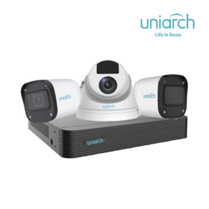 Bộ Kit Camera IP 2MP UNIARCH COMBO X32P1