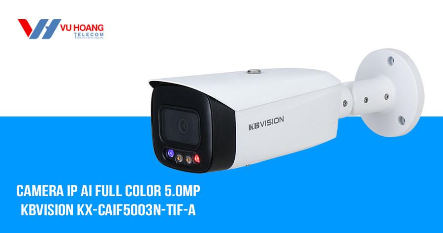 Bán camera IP AI Full Color 5MP KBVISION KX-CAiF5003N-TiF-A giá rẻ