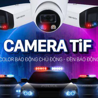 Dòng camera TiF KBVISION mới