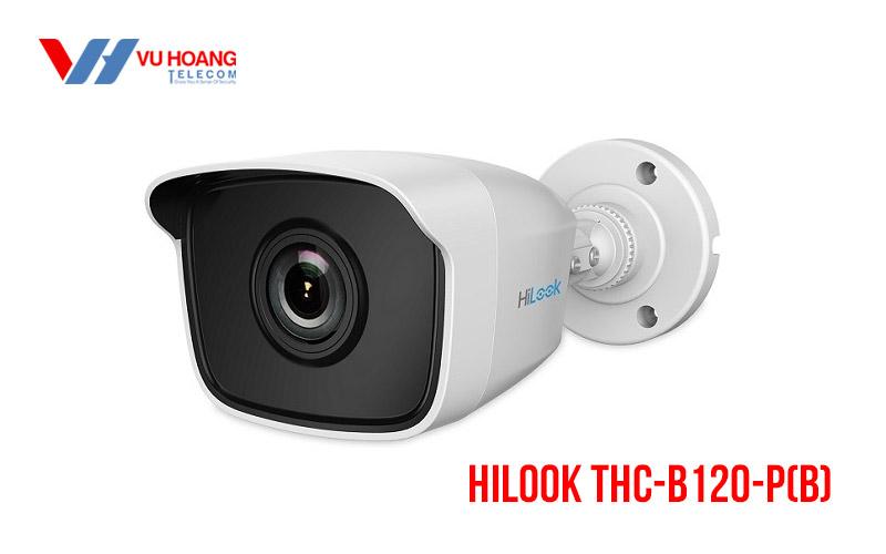 Camera Turbo HD Bullet 2MP HILOOK THC-B120-P(B)
