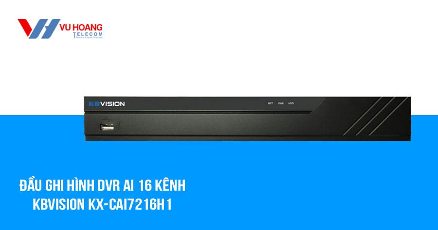 Bán đầu ghi hình AI SMD Plus 16 kênh KBVISION KX-CAi7216H1 giá rẻ