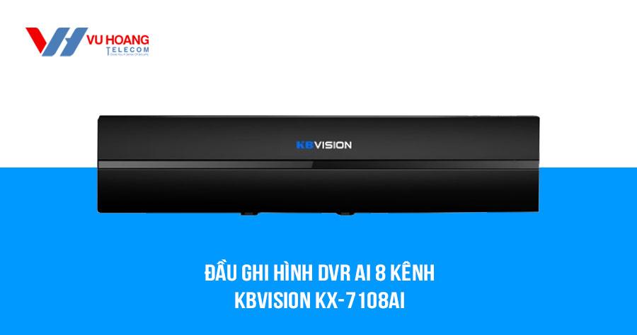 Bán đầu ghi hình DVR Ai 8 kênh KBVISION KX-7108Ai giá rẻ