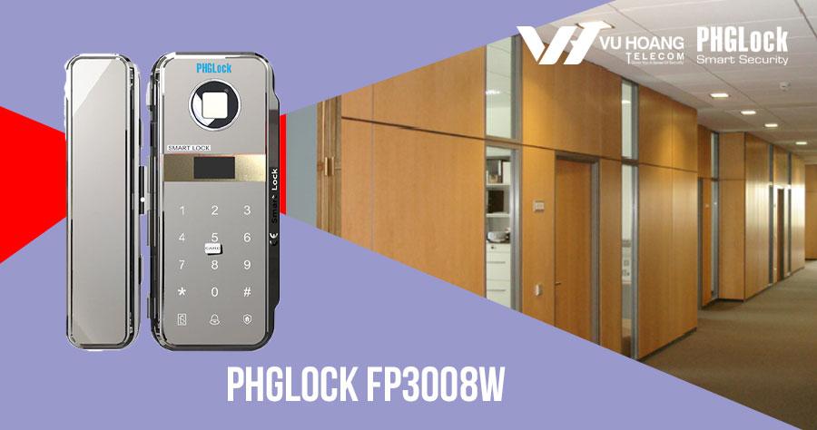 Bán khóa cho cửa kính tự động PHGLOCK FP3008W giá rẻ