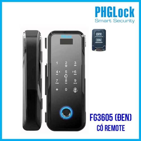 PHGLOCK FG3605 (Đen) có remote