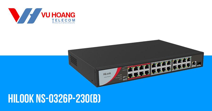 Bán Switch 24 cổng POE Hilook NS-0326P-230(B) giá rẻ