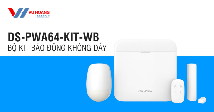 Bán bộ KIT báo động không dây HIKVISION DS-PWA64-Kit-WB giá rẻ