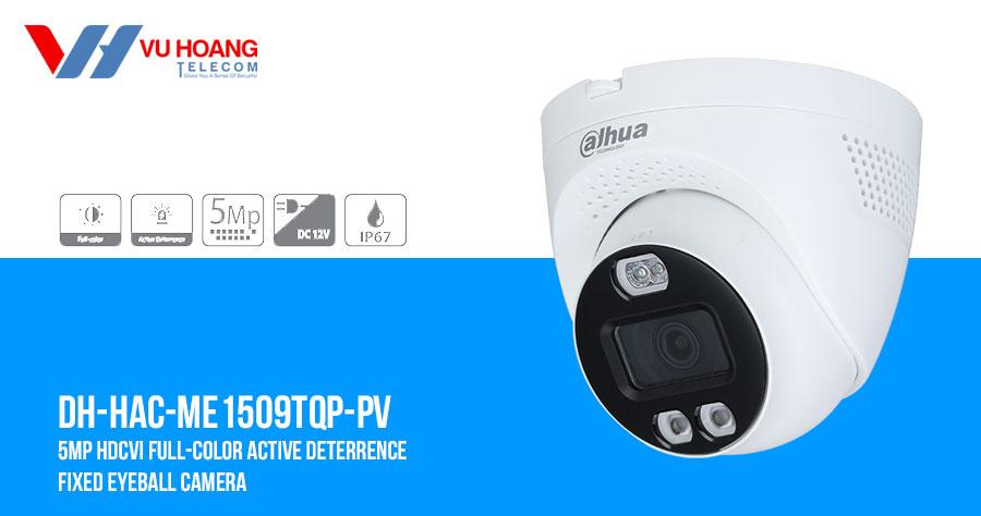 Camera HDCVI Full-Color 5MP DAHUA DH-HAC-ME1509TQP-PV giá rẻ