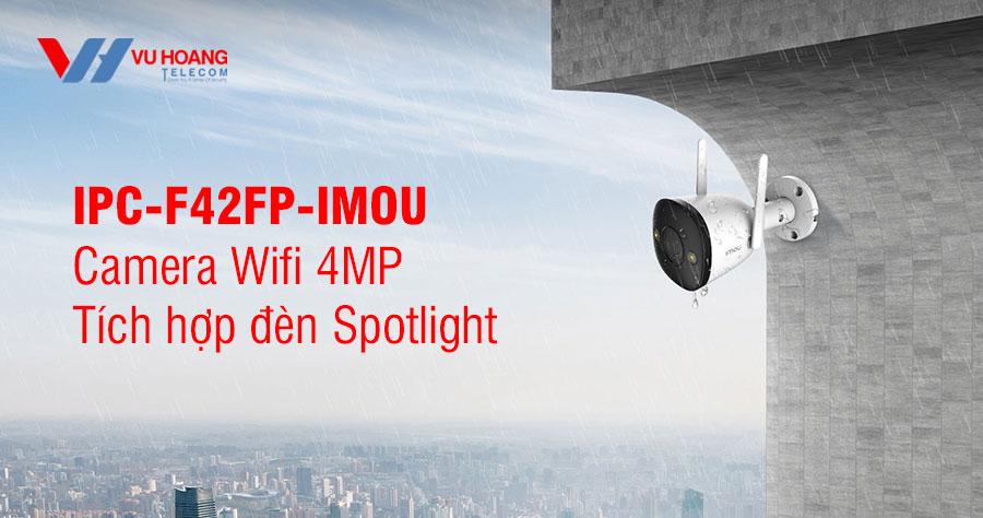 Bán camera Wifi 4.0MP IPC-F42FP-IMOU