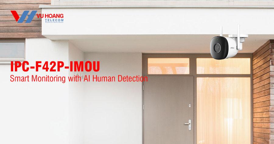 Camera Wifi 4.0MP IPC-F42P-IMOU hỗ trợ Hotspot