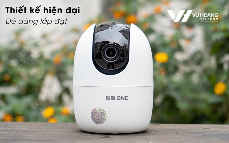 Camera KBONE KN-H41P thiết kế hiện đại