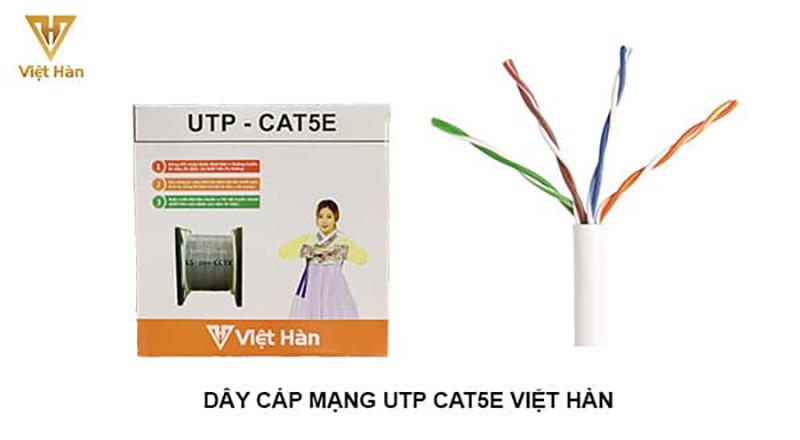 Cáp mạng UTP CAT5E Việt Hàn