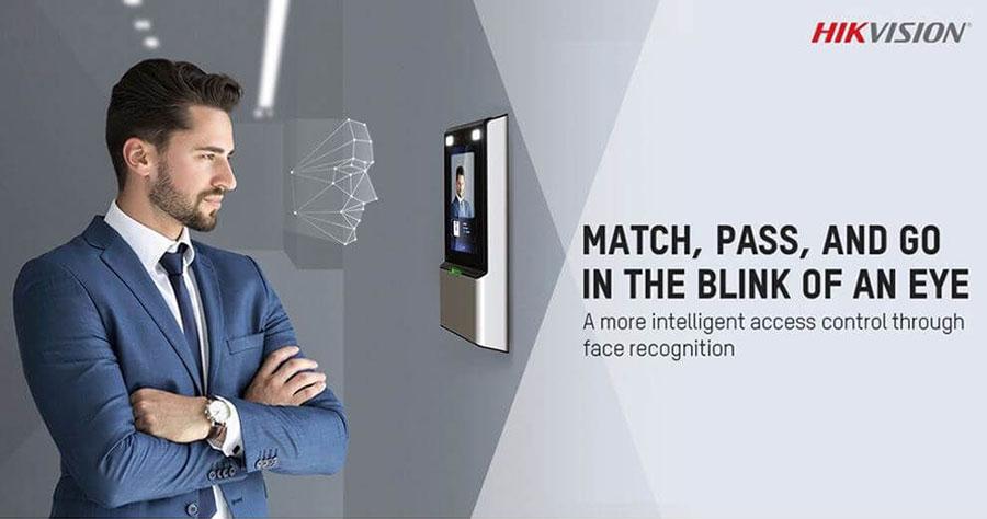 Máy chấm công nhận diện khuôn mặt HIKVISION DS-K1TV41MF giá rẻ