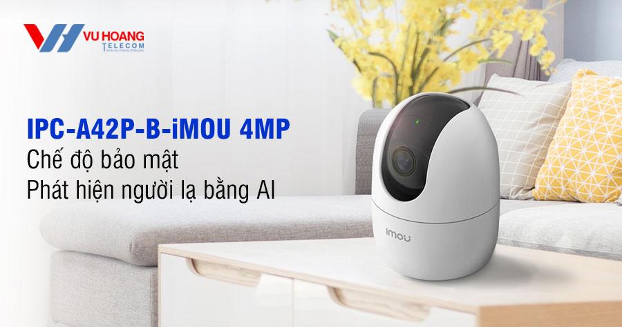 Bán camera Wifi 4MP IPC-A42P-D-iMOU giá rẻ. LH mua ngay 19009259