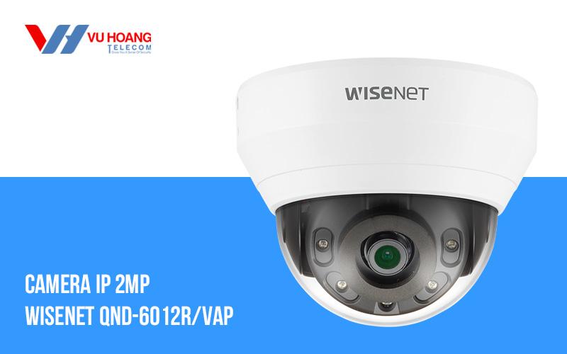 Camera IP 2MP WISENET QND-6012R/VAP