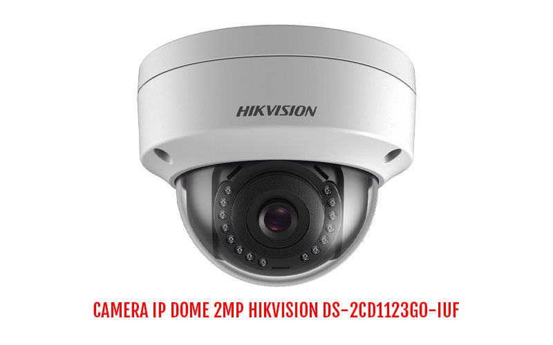 Camera IP Dome 2MP HIKVISION DS-2CD1123G0-IUF