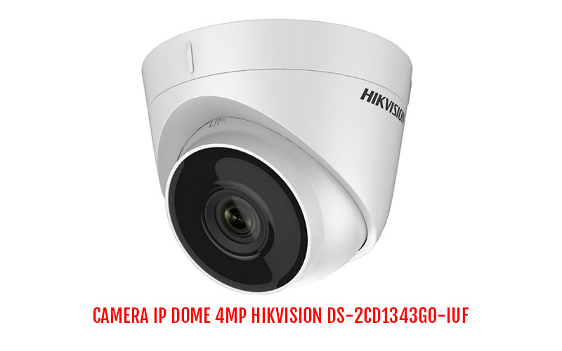 Bán camera IP Dome 4MP HIKVISION DS-2CD1343G0-IUF giá rẻ