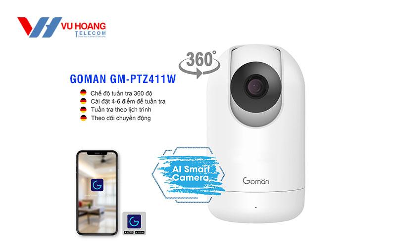 Camera IP PTZ Indoor GOMAN GM-PTZ411W