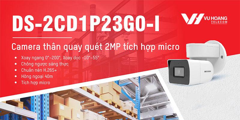 Camera PTZ HIKVISION DS-2CD1P23G0-I