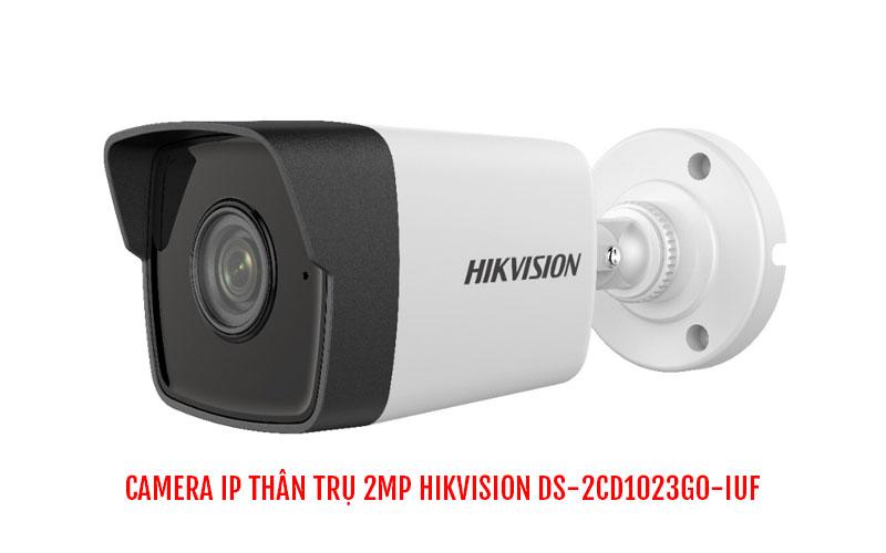 Camera IP thân trụ 2MP HIKVISION DS-2CD1023G0-IUF