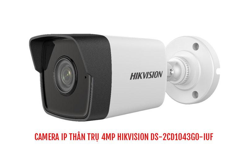 Camera IP thân trụ 4MP HIKVISION DS-2CD1043G0-IUF