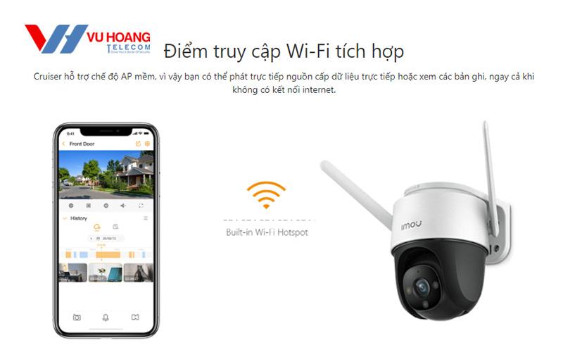 Điểm truy cập Wifi tích hợp