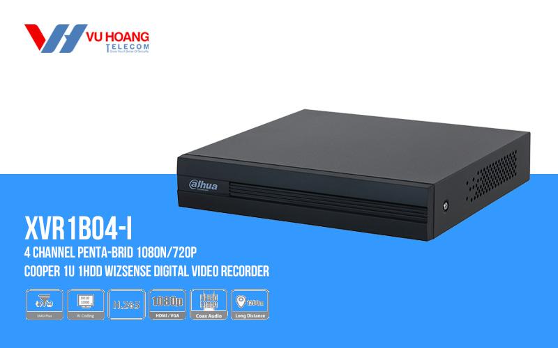 Bán đầu ghi hình HDCVI 4 kênh DAHUA DH-XVR1B04-I giá rẻ