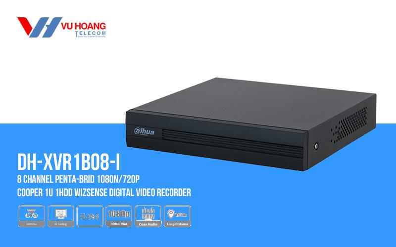 Bán đầu ghi hình HDCVI 8 kênh DAHUA DH-XVR1B08-I giá rẻ
