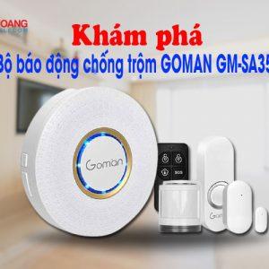 kham pha bo bao dong chong trom GOMAN GM-SA351
