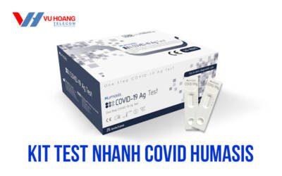 Kit test nhanh Covid Humasis